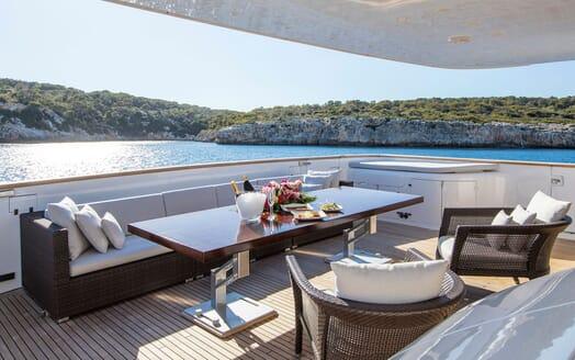 Motor Yacht ALWAYS BELIEVE Sun Deck AFt
