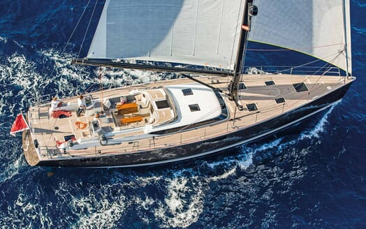Sailing Yacht PH3 aerial