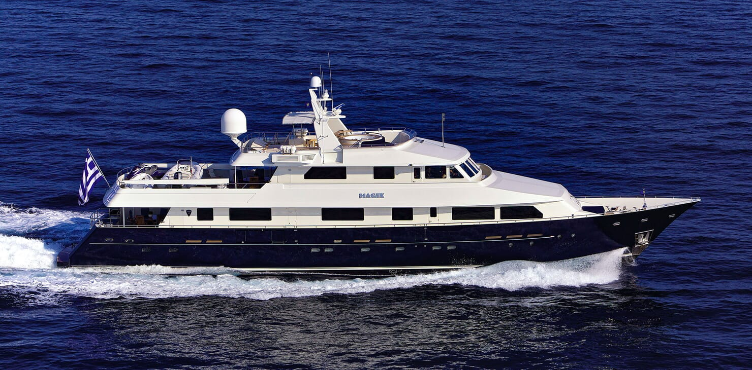 Motor Yacht MAGIX Profile