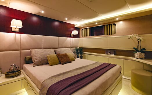 Motor Yacht MAGIX Double Guest Stateroom
