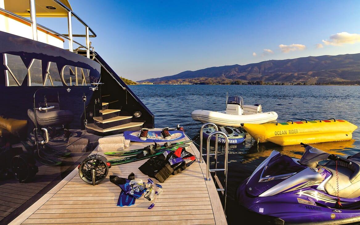 Motor Yacht MAGIX Aft Toys