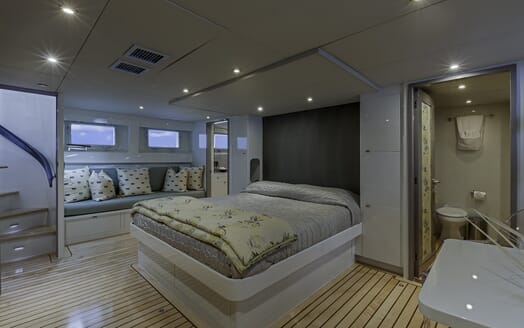 Motor Yacht First Home VIP cabin