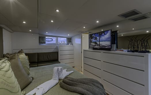 Motor Yacht First Home guest cabin