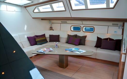 Sailing Yacht Susanne af Stockholm salon