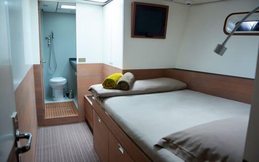 Sailing Yacht Susanne af Stockholm guest cabin
