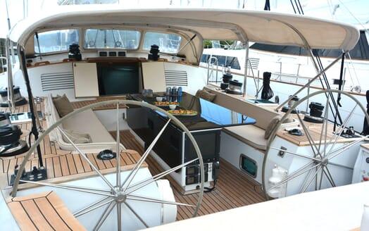 Sailing Yacht Susanne af Stockholm helm