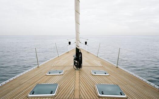 Sailing Yacht Susanne af Stockholm foredeck