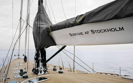 Sailing Yacht Susanne af Stockholm main deck