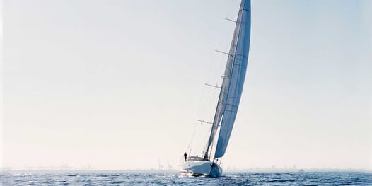 Sailing Yacht Susanne af Stockholm sailing