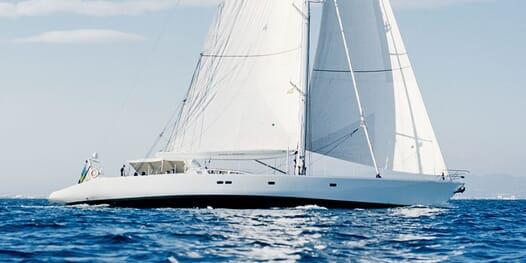 Sailing Yacht Susanne af Stockholm cruising