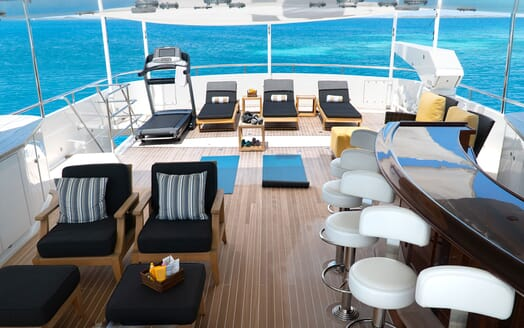 Motor Yacht PURE BLISS Sun Deck