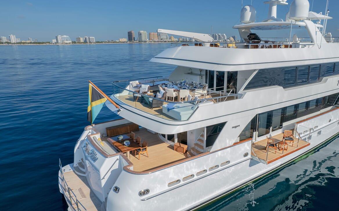 Motor Yacht PURE BLISS Fold Down Balcony