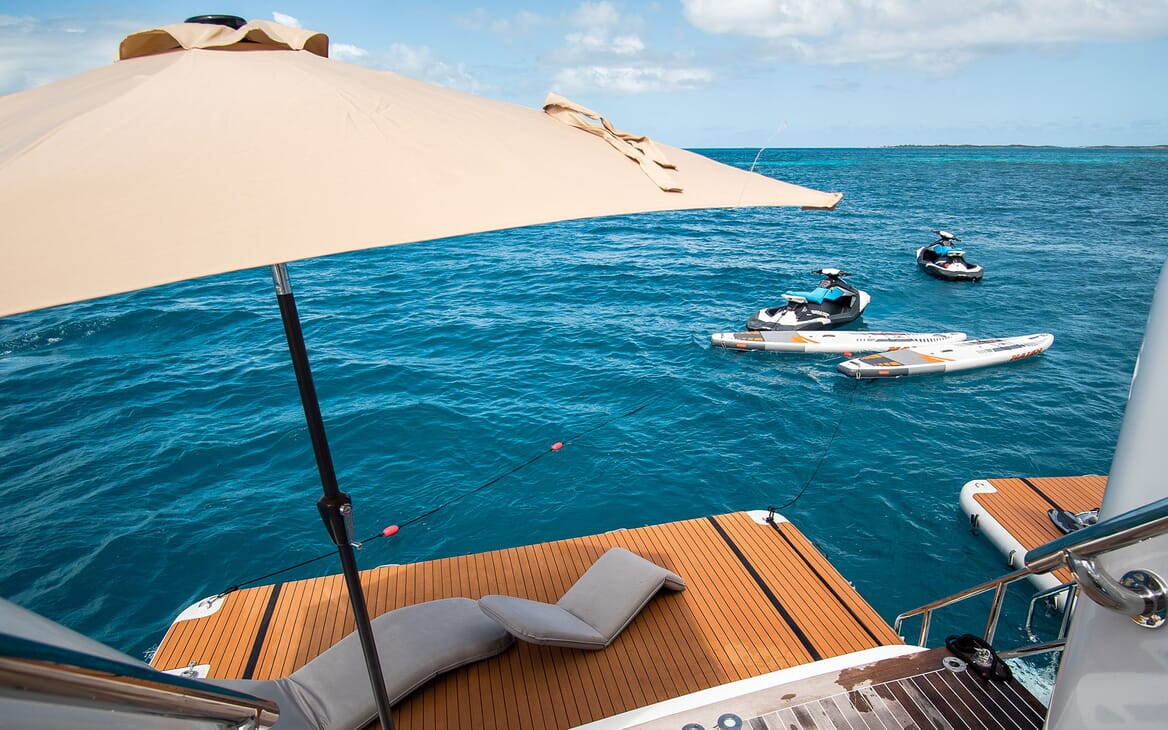 Motor Yacht PURE BLISS Inflatable Swim Platforms and Toys