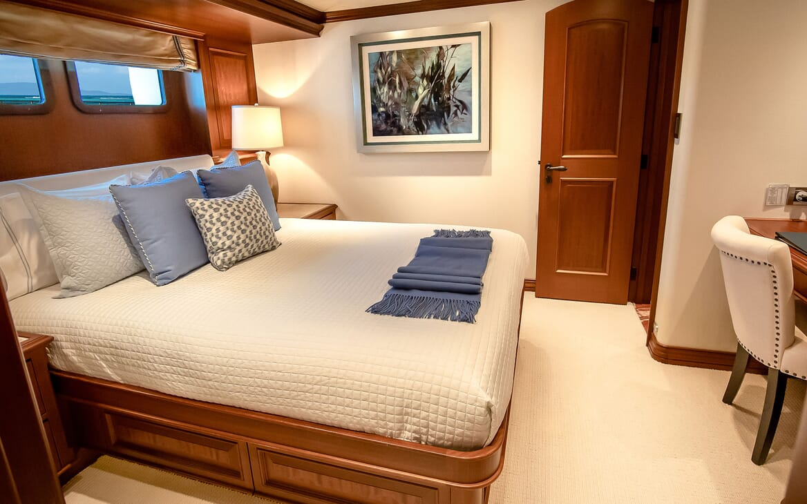 Motor Yacht PURE BLISS Second Double Stateroom