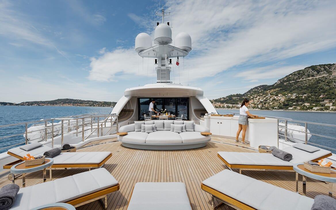 Motor Yacht VENTUM MARIS Sun Deck