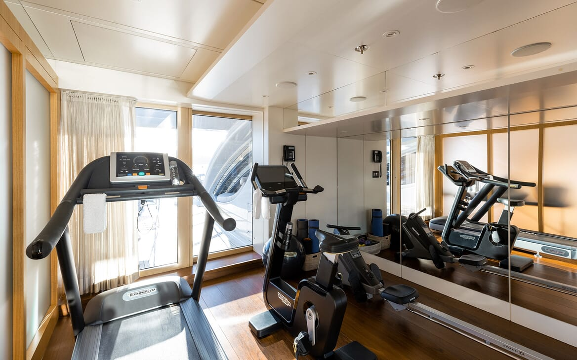 Motor Yacht VENTUM MARIS Gym