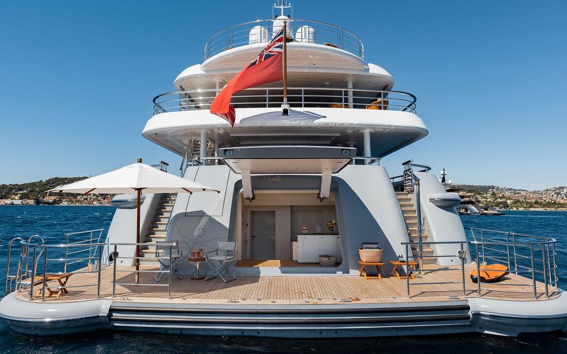 Motor Yacht VENTUM MARIS Aft Deck