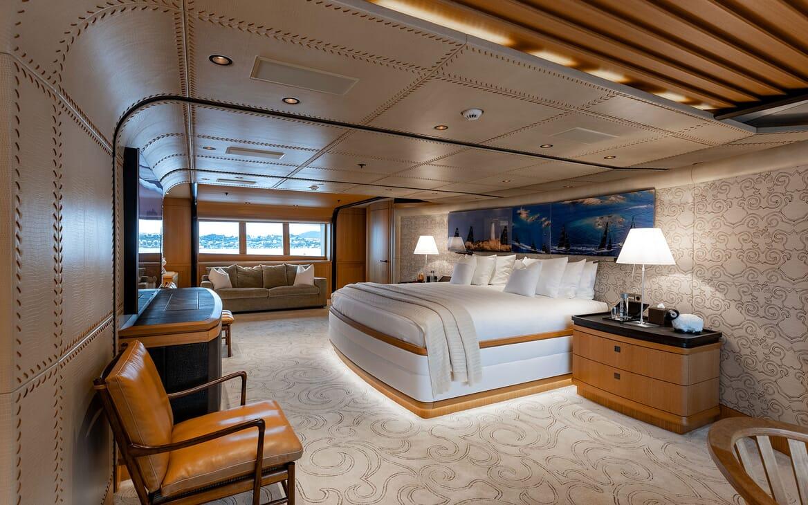 Motor Yacht VENTUM MARIS Master Stateroom