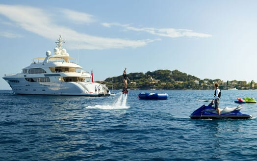 Motor Yacht NASSIMA Profile and Toys