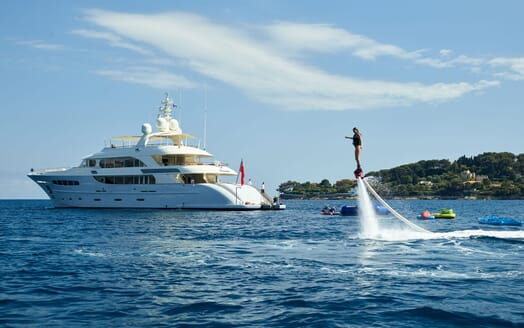 Motor Yacht NASSIMA Profile and Flyboard