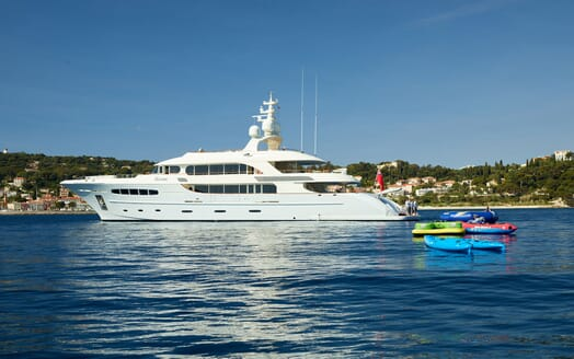 Motor Yacht NASSIMA Profile with Toys