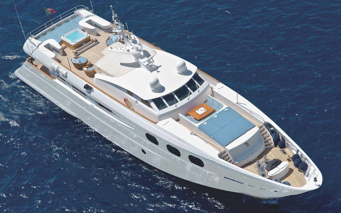Motor Yacht SOPHIE BLUE Exterior