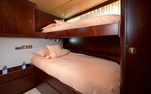 Sailing Yacht Lady Sunshine twin cabin