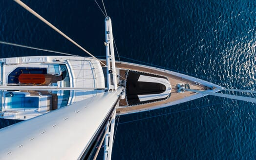 Sailing Yacht Lady Sunshine aerial