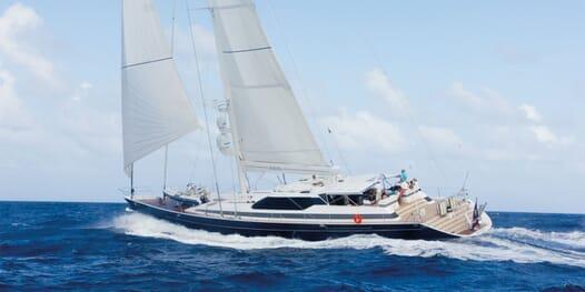 Sailing Yacht Seaquell sailing