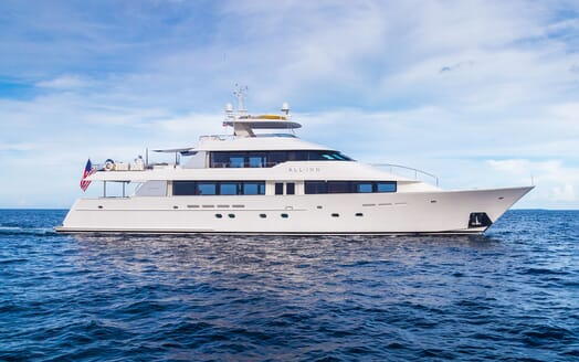 Motor Yacht ALL IN Profile