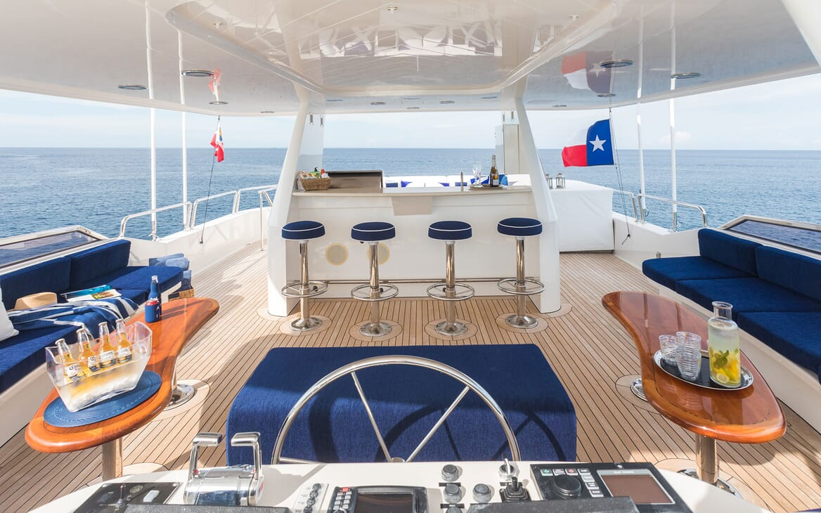 Motor Yacht ALL IN Sun Deck