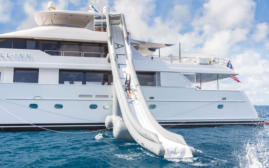 Motor Yacht ALL IN Inflatable Slide