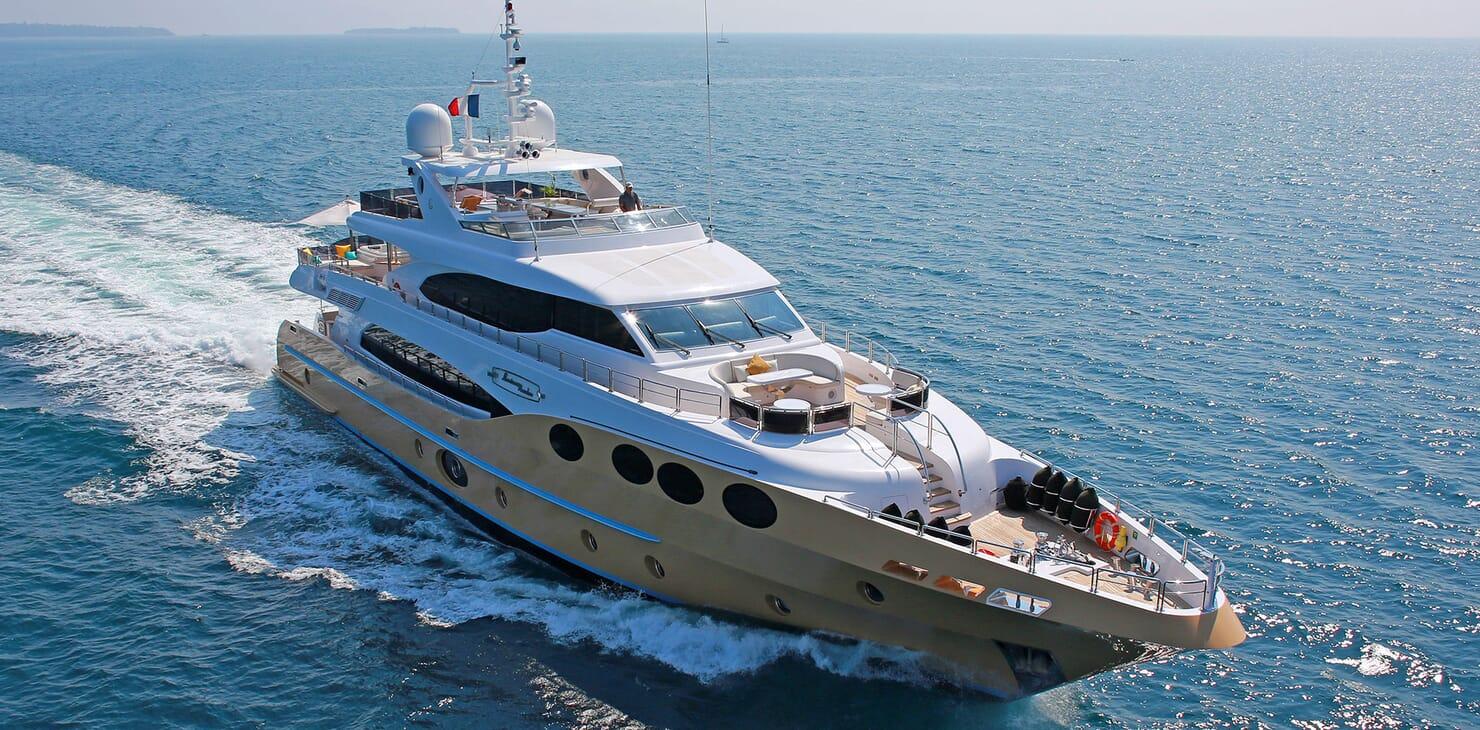 Motor Yacht MARINA WONDER Profile