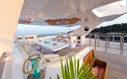 Motor Yacht MARINA WONDER Sun Deck