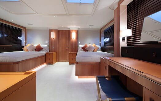 Sailing Yacht MIRASOL Double Stateroom