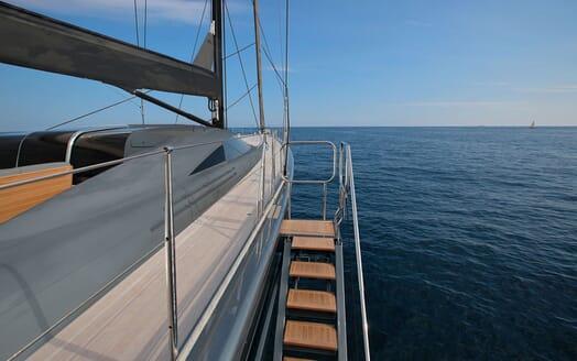 Sailing Yacht MIRASOL Profile Rendering