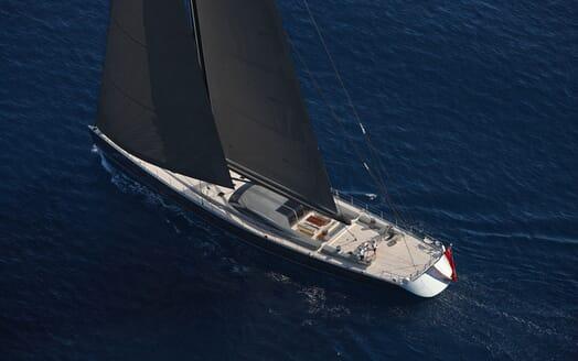 Sailing Yacht MIRASOL Aft Rendering
