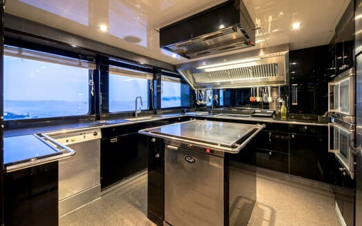 Motor Yacht BLISS Galley