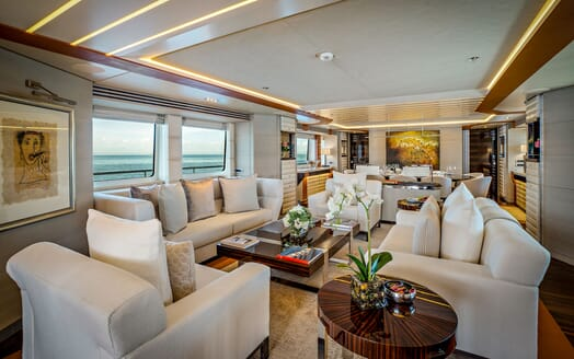 Motor Yacht ODYSSEA Main Deck Saloon