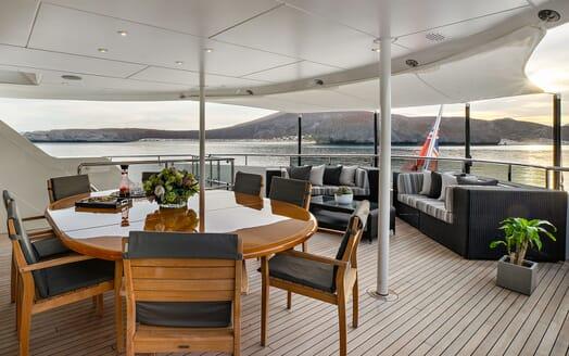 Motor Yacht ODYSSEA Main Aft Deck