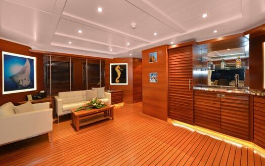 Motor Yacht Beluga salon