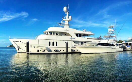 Motor Yacht Beluga moored