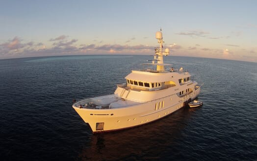 Motor Yacht Beluga anchored