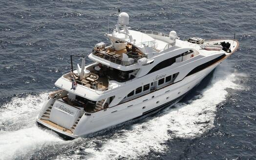 Motor Yacht Satine cruising
