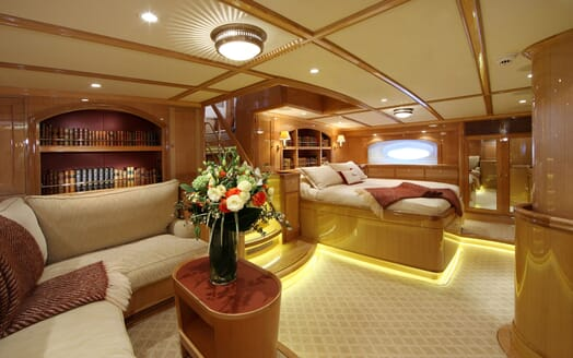 Sailing Yacht MARIE Master Stateroom