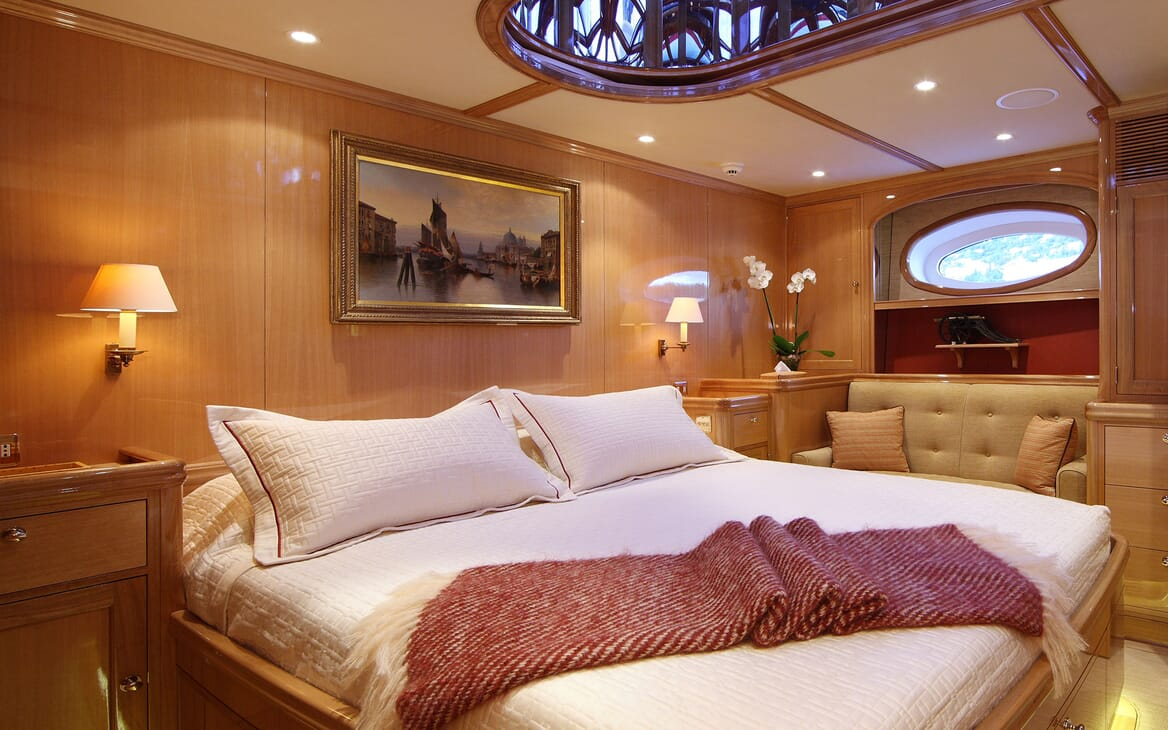 Sailing Yacht MARIE Guest Double Stateroom