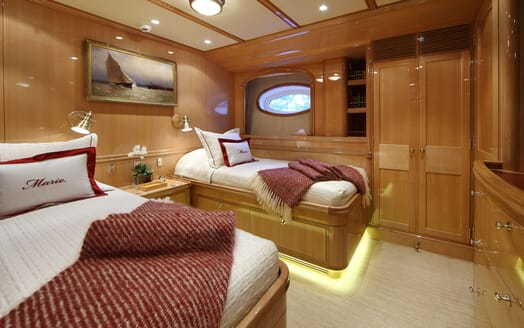 Sailing Yacht MARIE Twin Guest Stateroom