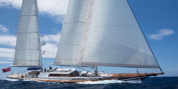 Sailing Yacht Infatuation sailing