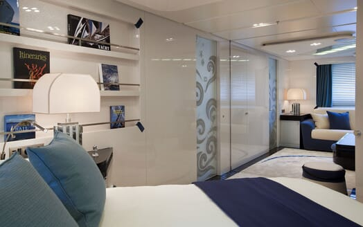 Motor Yacht QUITE ESSENTIAL Guest Stateroom
