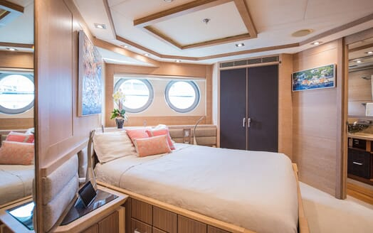 Motor Yacht Siren Guest Double Stateroom